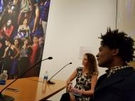 On panel with photographer Iké Udé and curator Selene Wendt
