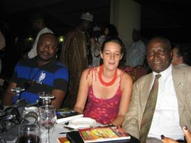 Zuma 2012: fellow jurors Sam Dede, Anouk Batard, and Duro Oni